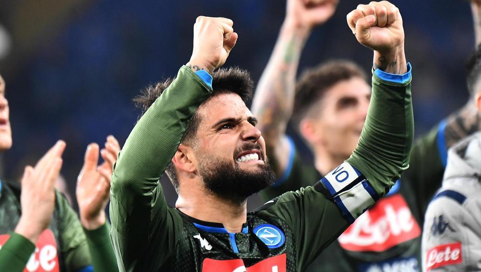 因西涅:那不勒斯状态回来了,在欧冠中是能够晋级的