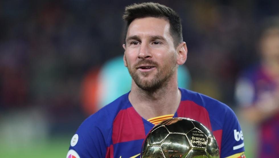 常规操作,梅西获第15届巴塞罗那体育文化奖