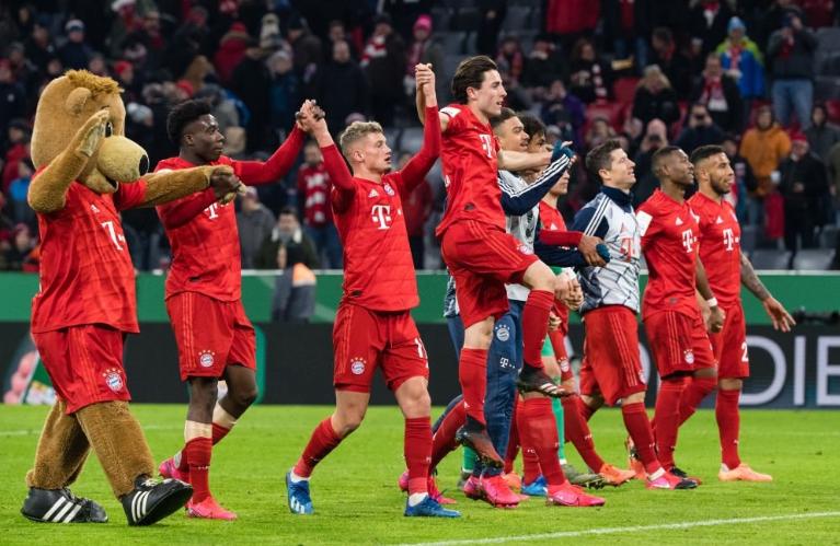 德国杯8强出炉:拜仁晋级,多特莱比锡出局