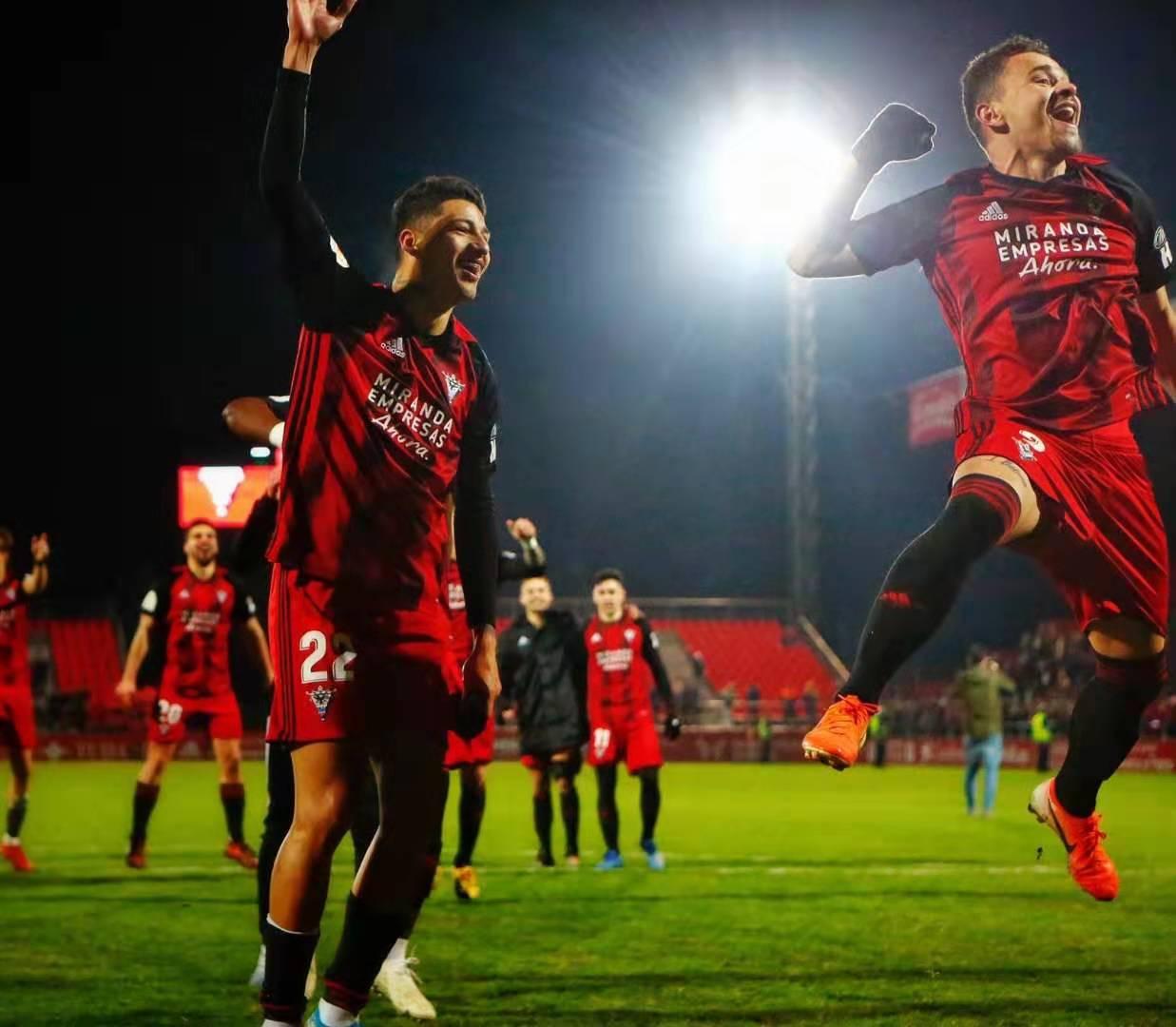 连克塞维黄潜,西乙中游球队米兰德斯杀入国王杯四强