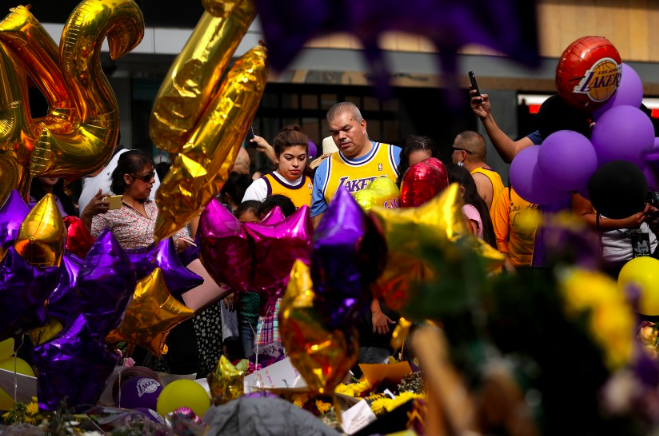 洛杉矶将于当地时间本月24日为科比等9名遇难者举行追悼会