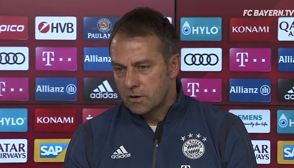 弗里克:卢卡斯科曼对阵莱比锡复出,目前仅三名伤员