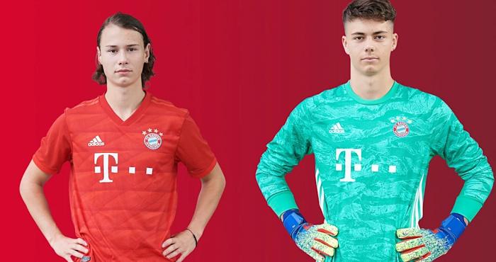 官方:拜仁慕尼黑两名青训小将被外租