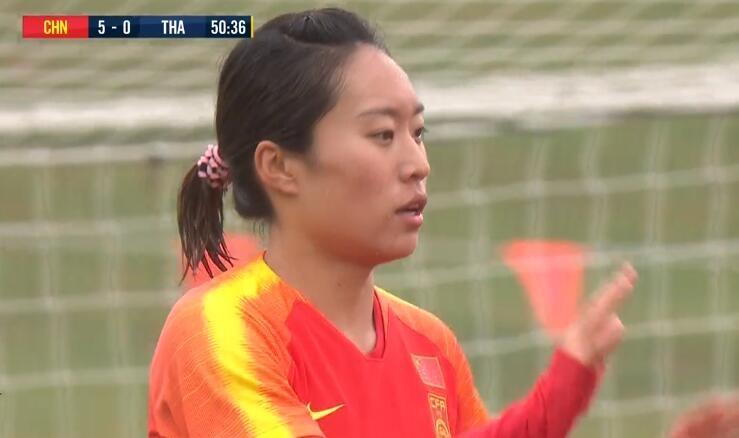GIF:太残暴了!唐佳丽梅开二度,女足5-0泰国