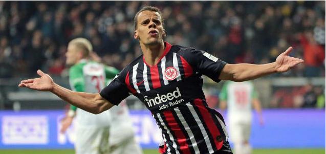 德甲:科斯蒂奇两球两助,法兰克福5-0奥格斯堡