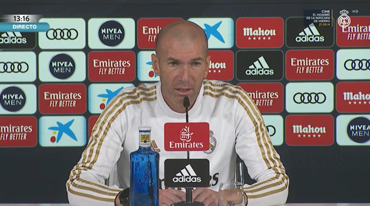 齐达内:如果贝尔踢到合同到期,对我来说不是问题