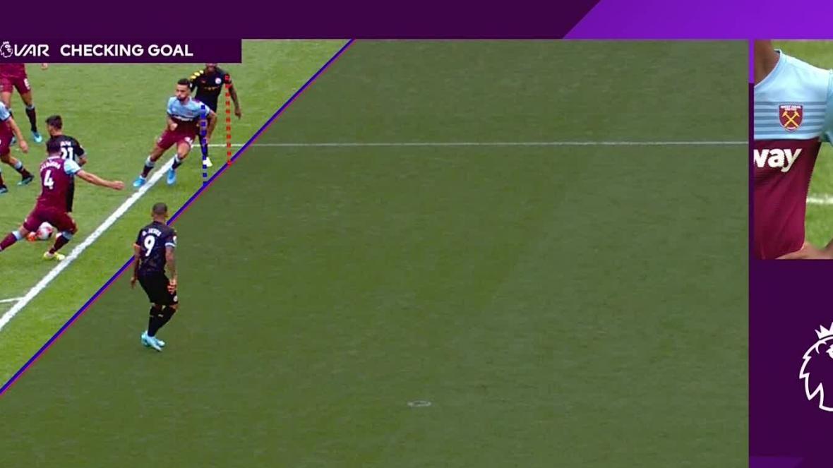 泰晤士报:英超球队希望下赛季VAR越位判定容许10cm余地