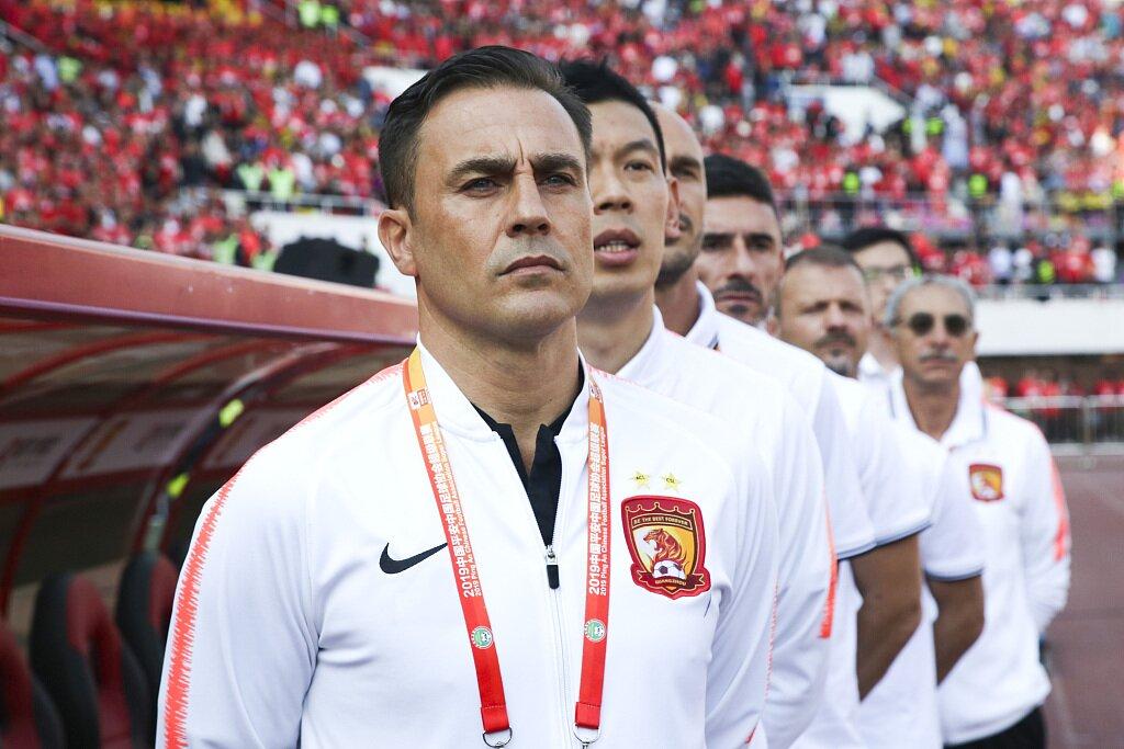 卡纳瓦罗:中国疫情形势严峻但不可怕,给球队放了18天的假