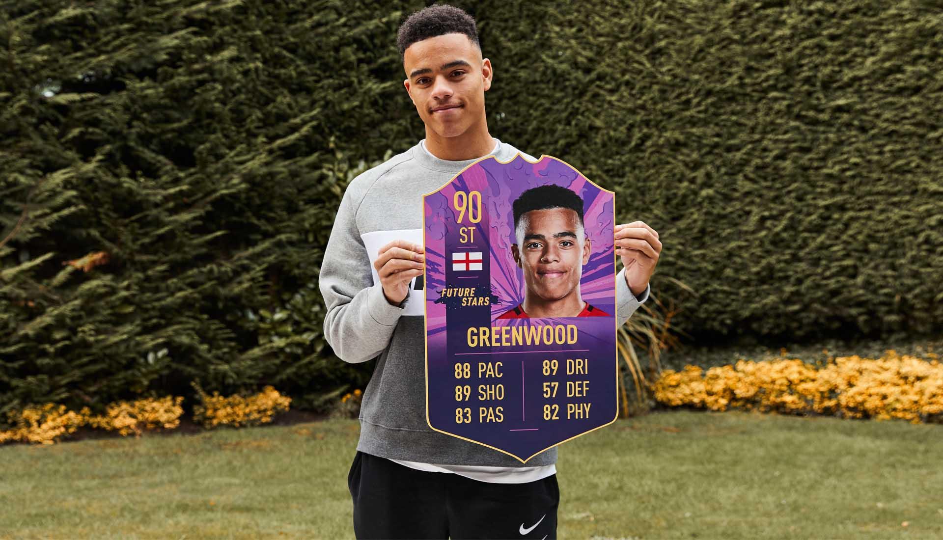 格林伍德:很高兴入选FIFA未来之星,我会把自己排进阵容