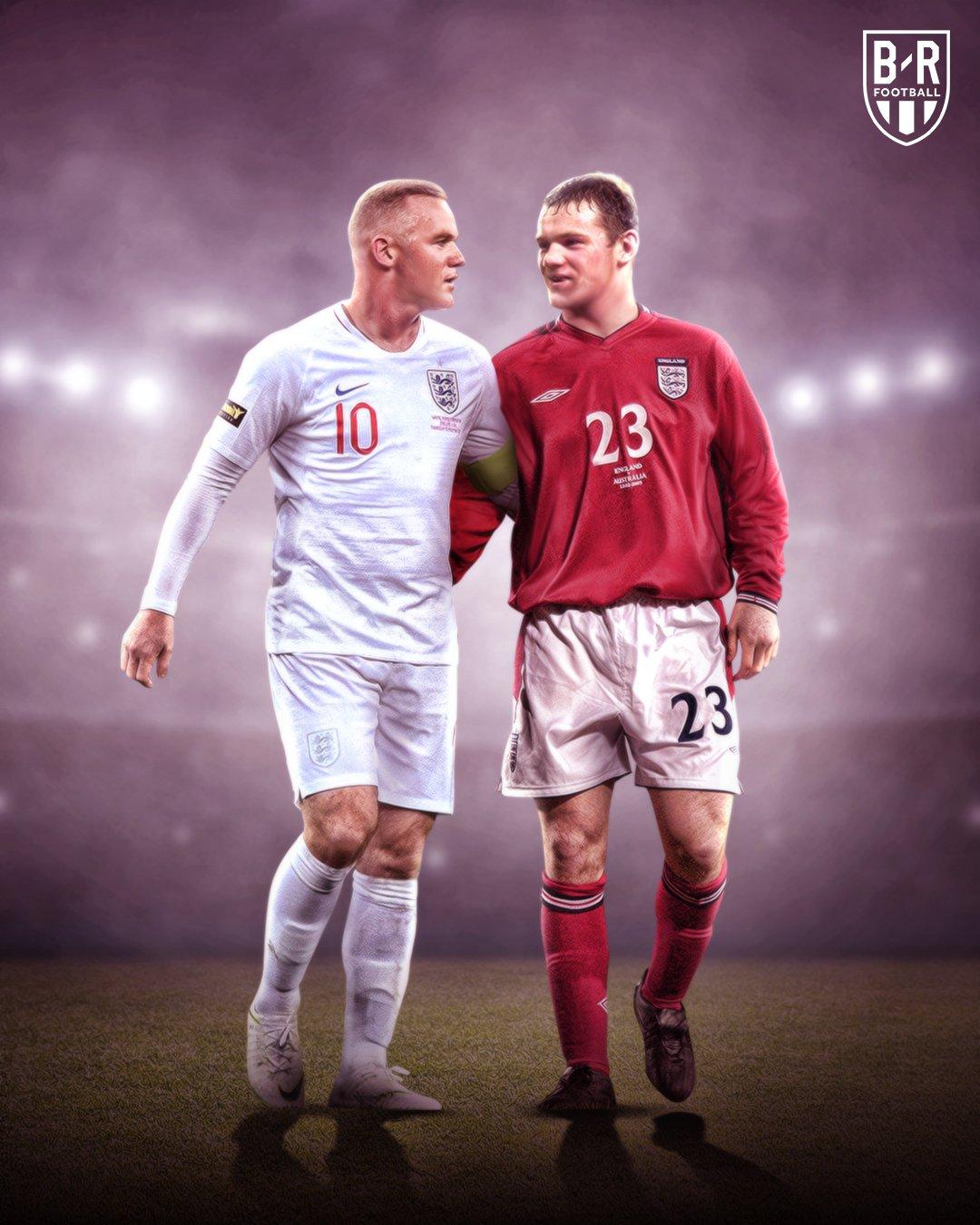 十七年前的今天,17岁111天的鲁尼首次代表英格兰队出场