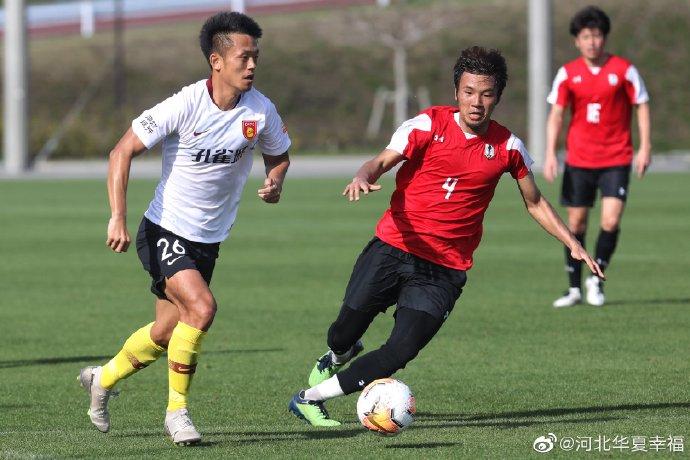 热身赛:华夏幸福0-2日本J3球队盛冈仙鹤