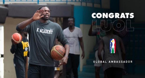 前NBA球员洛尔-邓被任命为非洲篮球联赛全球大使