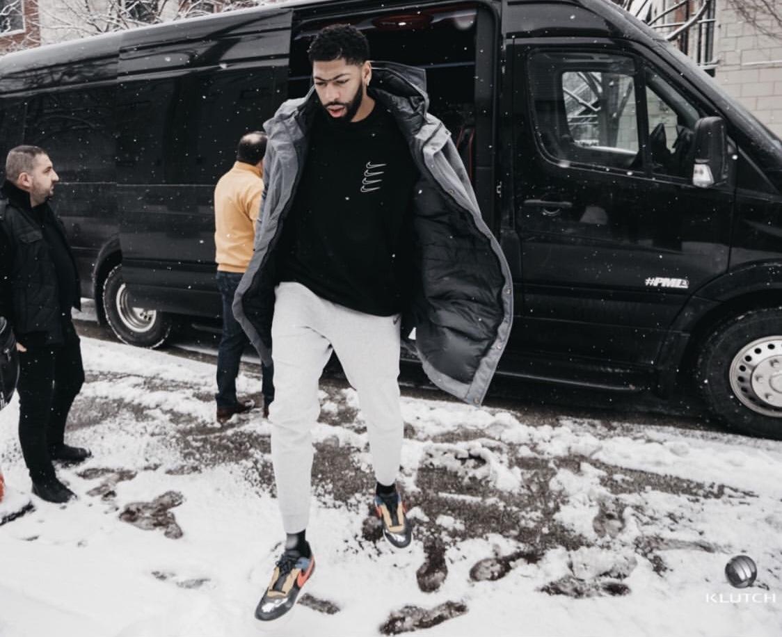 冰天雪地!戴维斯:愿你们准备好迎接芝加哥这周末的天气