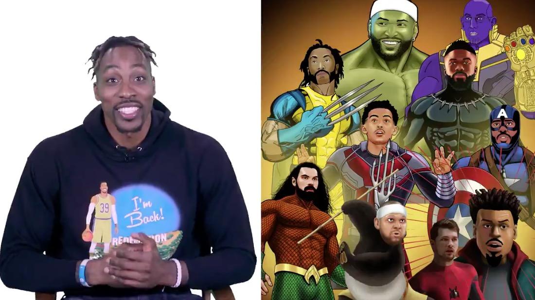 【影片】Howard為聯盟眾人設計超級英雄形象:詹姆斯鋼鐵人,Silver薩諾斯!-Haters-黑特籃球NBA新聞影音圖片分享社區