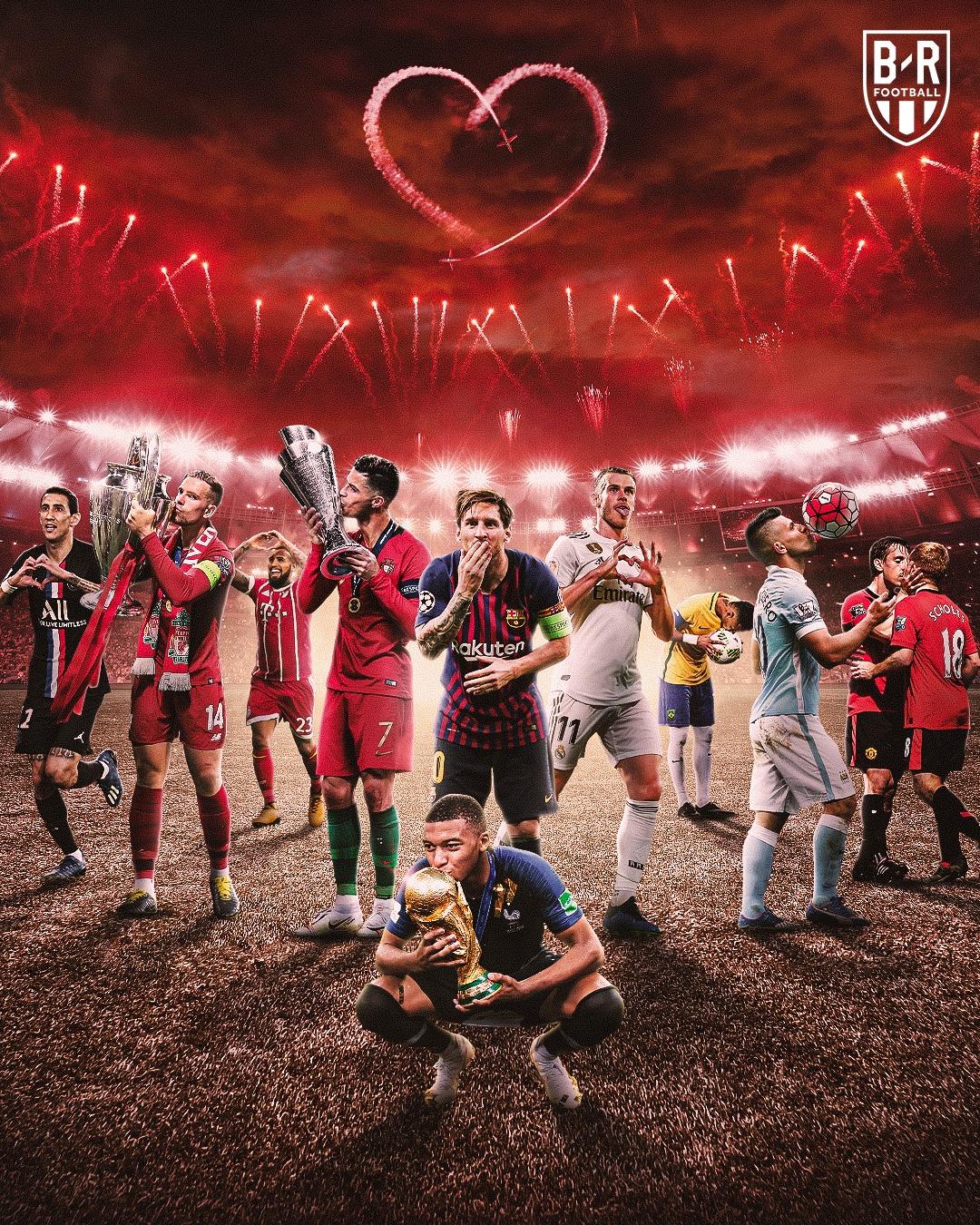 B/R海报:又是一年过节时,祝我们的真爱足球情人节快乐