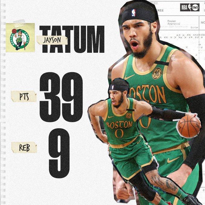 塔特姆近5场场均29分8.2板3.4助1.6断1.4帽,命中率5成
