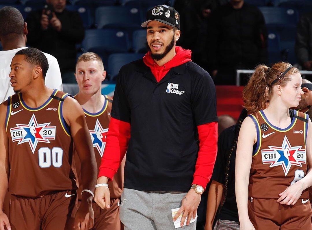温暖有喜欢!塔特姆参添NBA关喜欢运动,执教特奥选手比赛