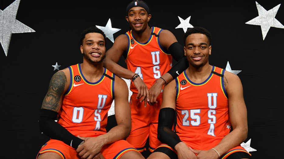 PJ-华盛顿:比赛很有趣,为布里奇斯拿到MVP感到激动