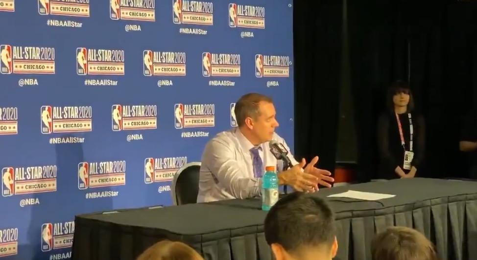 沃格尔:保罗是我们赢球的关键原因,他告诉我他不想休息