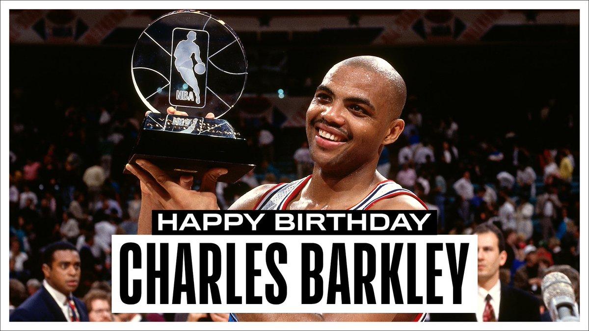 NBA官方祝巴克利、詹姆斯-约翰逊和卡尔弗生日快乐