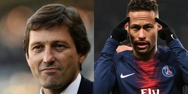 法媒:巴黎部分高层对内马尔在欧冠赛后的言论不满