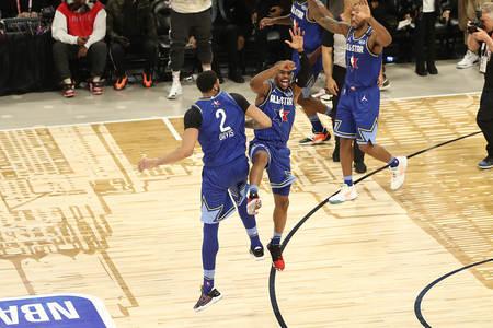 "NBA可能在下届全明星正赛沿用并革新""目的分数制"""