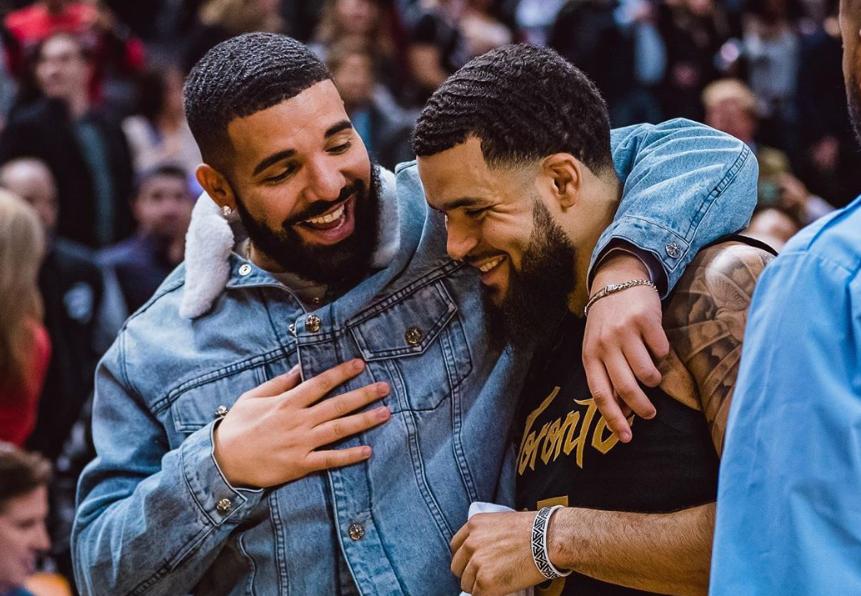 假作真时真亦假?范弗利特晒与Drake合影:兄弟情谊