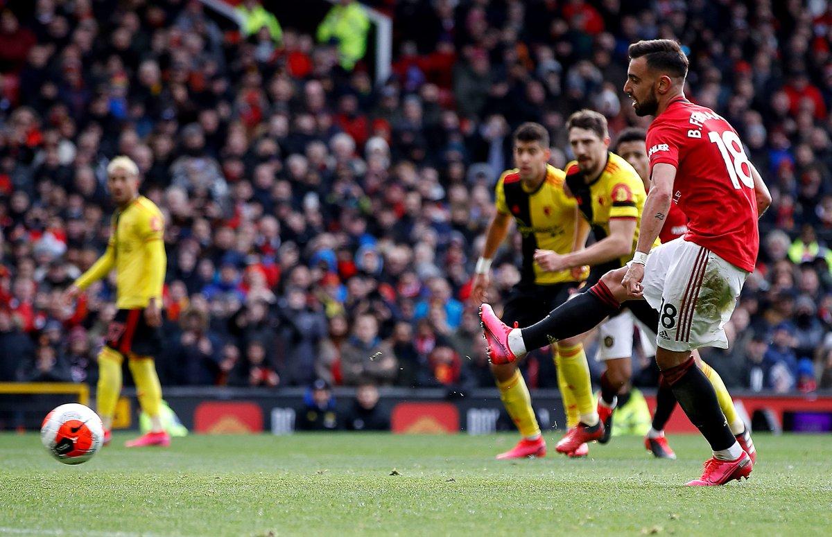 曼联近2个赛季英超点球数均10 ,本赛季比第二众3个