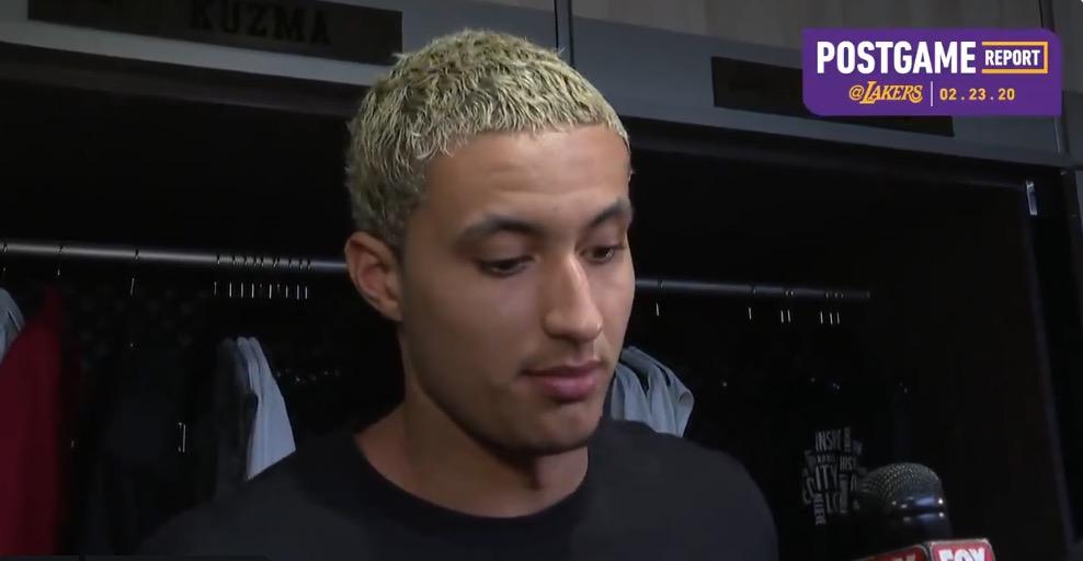 库兹马:我就是努力承担起自己的角色,找到投篮节奏