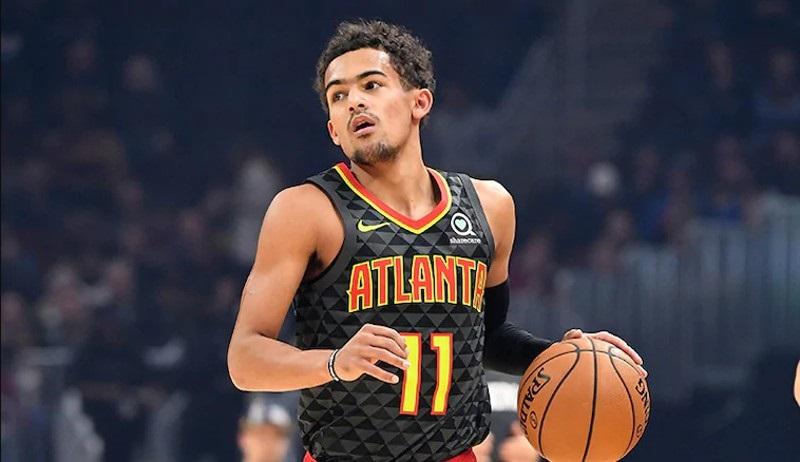 特雷-杨22岁前连续8场拿到至少25分7助攻,NBA历史首人