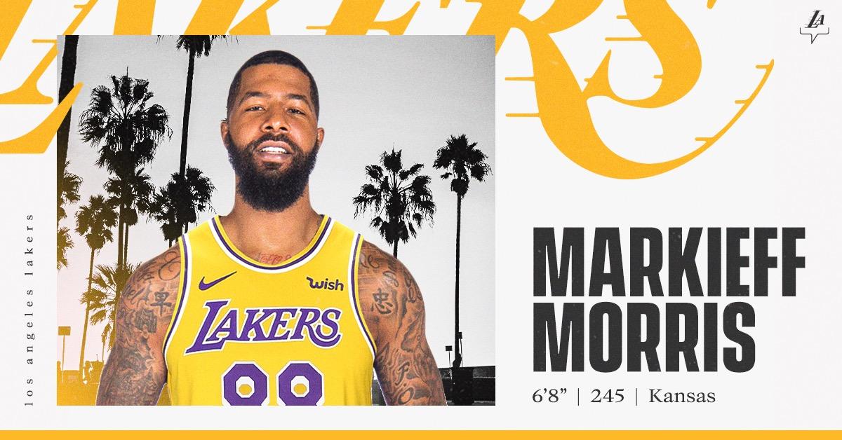 马基夫-莫里斯将在湖人身穿88号球衣