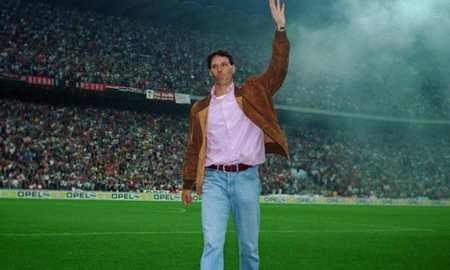 范巴斯滕:伊布曾对我挑衅,我曾以为能在米兰踢到38岁