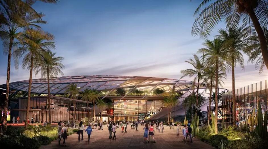 鲍尔默接近买下洛杉矶郊外,位于英格尔伍德的一座新球馆