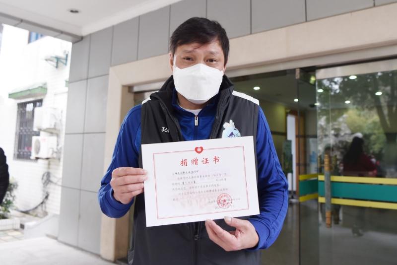 上海模子!范志毅与老克勒队友再捐一万只口罩助力抗疫