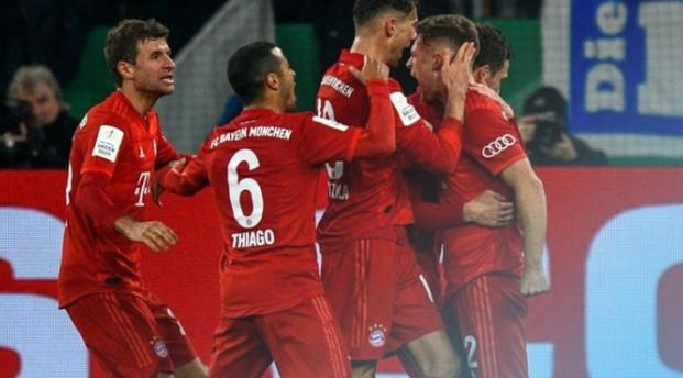强势!拜仁慕尼黑连续第11次进入德国杯四强