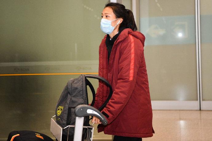 多图流:结束澳洲集训,中国女足回国抵达首都机场
