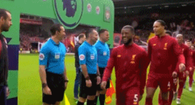 GIF:预防措施到位,利物浦伯恩茅斯赛前握手环节被取消