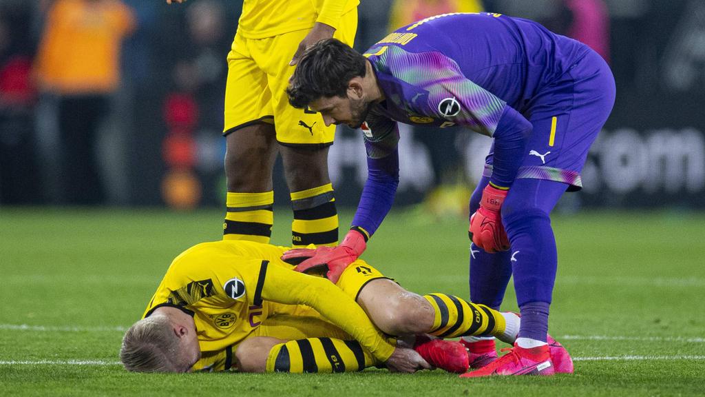 哈兰德阿扎尔因伤被换下!法夫尔:出战巴黎应该没问题