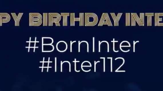 国米喜迎112岁生日,国际米兰,生日快乐!!!