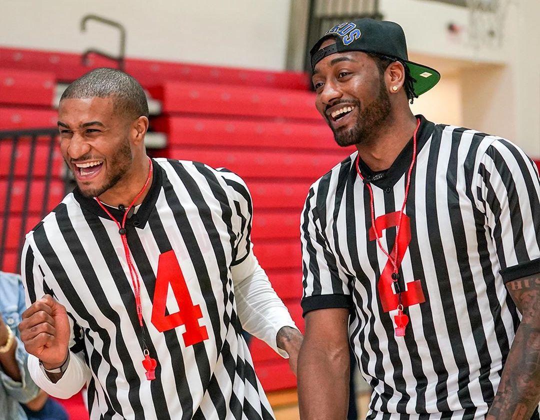 温暖有爱!奇才球员参加特殊奥林匹克选手的篮球活动