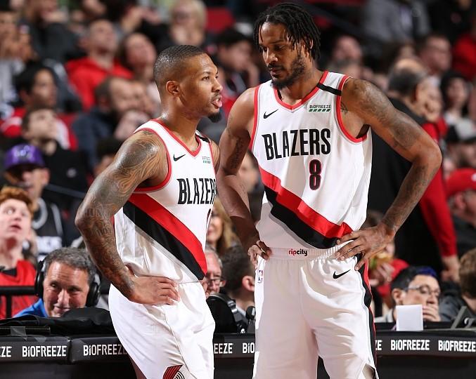 利拉德谈阿里扎:他能拉开空间,他是优秀的篮球运动员