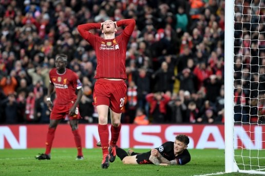 重蹈覆辙,利物浦两次欧冠卫冕之旅皆在淘汰赛首轮遭双杀