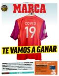 马卡报头版传递信心:COVID-19,我们必