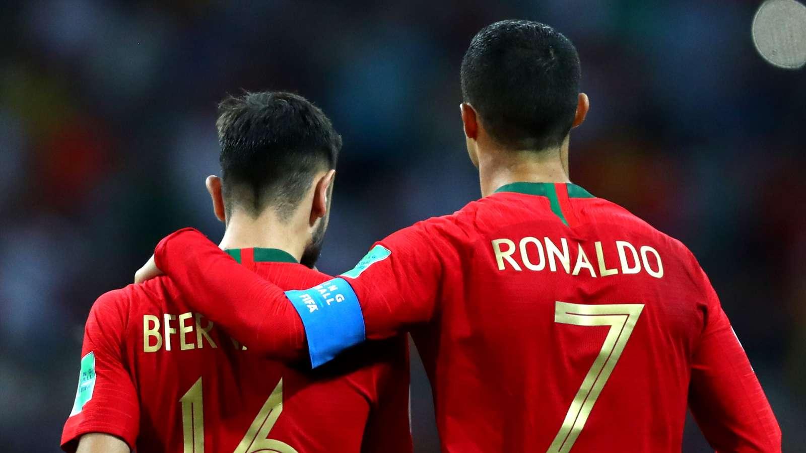 B费:C罗说我在葡萄牙体育踢得不错,他很欢迎我进国家队