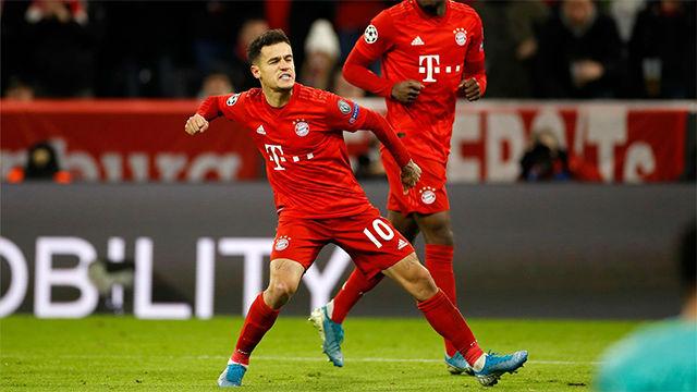 每体:拜仁不会买断库蒂尼奥,而巴萨可能继续将之外租