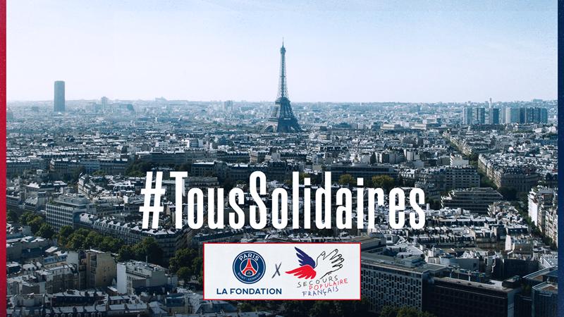 官方:巴黎圣日耳曼为抗疫捐款10万欧元,合计已达50万欧