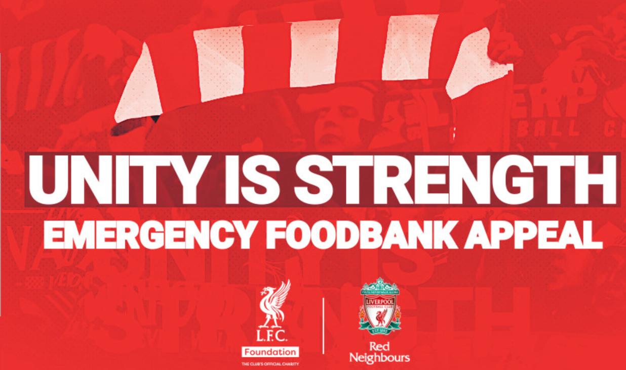 利物浦启动危险食品银走,协助拮据家庭和弱势群体