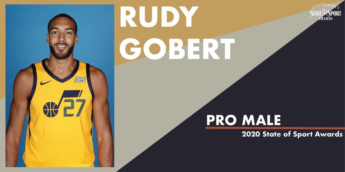犹他州体育委员会:戈贝尔当选犹他州年度最佳男运动员