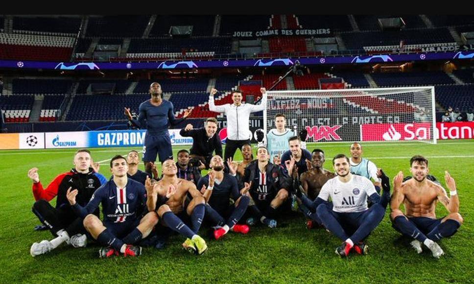 欧足联认定巴黎集体模仿哈兰德为不当行为,并做出警告