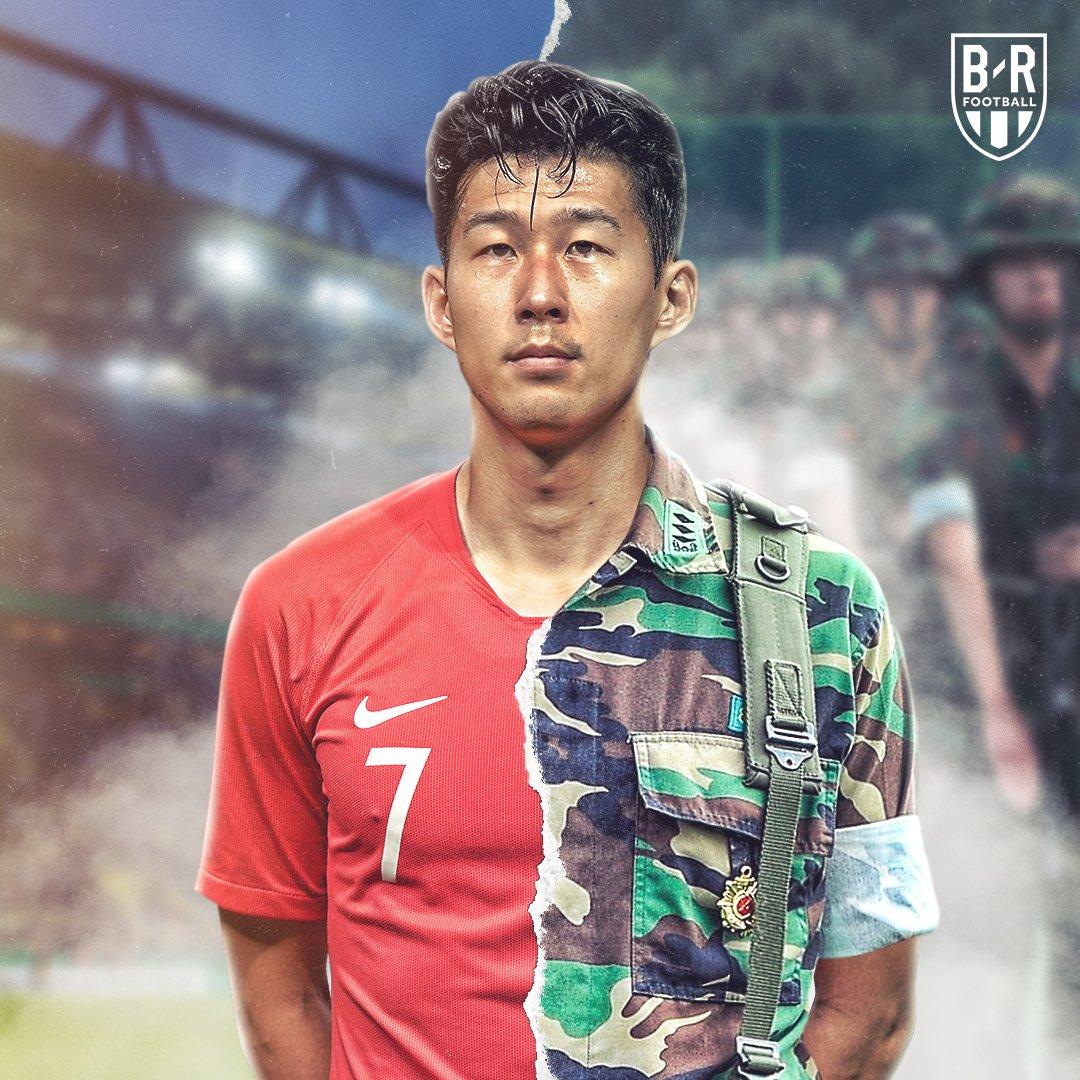 B/R海报:孙兴慜,从英超到韩国海军陆战队